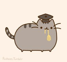 Pusheen themed graduation partay?! I think i heard that it would be really cool!