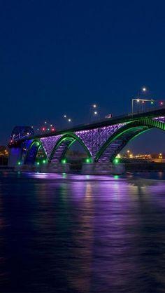 Peace Bridge, Niagara River