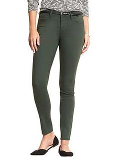 Womens The Rockstar Mid-Rise Skinny Pop-Color Jeans