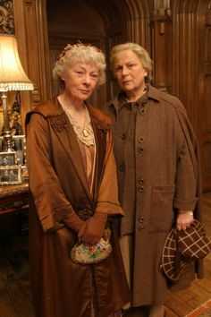 Geraldine McEwan & Pam Ferris in 'The 4:50 From Paddington'. One of my all time favorite adaptions.
