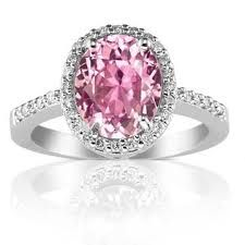 pale pink sapphire engagement rings - Google Search. Pretty in pink!