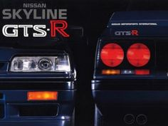 Nissan Skyline R31 GTS-R Poster