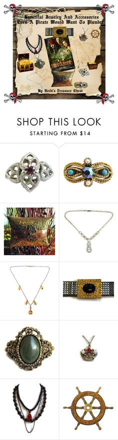 """""""Beautiful Jewelry And Accessories Even A Pirate Would Want To Plunder"""" by heidi-calamia-galati ❤ liked on Polyvore featuring vintage, women's clothing, women, female, woman, misses and juniors"""