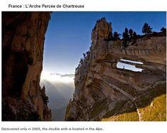 39 endroits à visiter avant de mourir   endroits a visiter avant de mourir arche percee de chartreuse