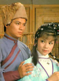 Felix Wong Yat Wah as Kwok Ching & Barbara Yung Mei Ling as Wong Yung in The Legend of the Condor Heroes Drama Series, Tv Series, Hong Kong Movie, Childhood Stories, Good Old Times, Now And Then Movie, Asian Actors, Old Movies, The Darkest