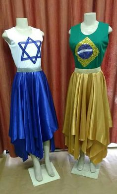 Roupas coreografia ♥ Praise Dance Wear, Worship Dance, Dance Outfits, Dance Dresses, Summer Dresses, Celtic Dress, Garment Of Praise, Dance Gear, Dance Fashion