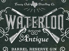 WIP - Waterloo Antique Label —Evan Bozarth