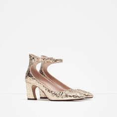 GLITTER HIGH HEEL SHOES - View all - Shoes - WOMAN - SALE | ZARA United Kingdom