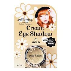 Dolly Wink Cream Eye Shadow Ⅱ No.1 Gold