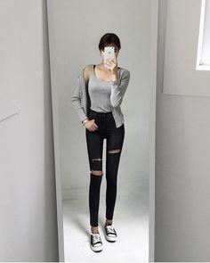 Autumn Fashion in Korea - Casual Style                                                                                        Photo credi...