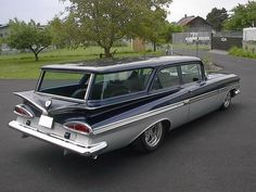 1 of 55 COPO 1959 Impala 2 door wagons ordered for Naval Admirals and Commanders on the east coast. #chevroletimpala1959