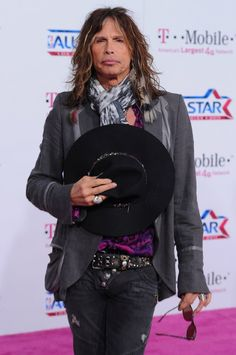 steven tyler...proves you don't have to completely grow up