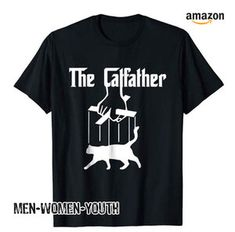 The Catfather Tee Cool Funny Cat T-Shirt by Scar Design. Unisex Hoodies for all Pet Lovers and Cinema Fans! Click and  Buy yours at @Amazon store only $19.99! #thecatfather #funny #graphictee   #graphictshirt  #tshirt #tees #movieparody #thecatfather  #tshirtdesign #tshirtfashion #catfather   #cat #amazon #movie #cinema #cinephile #film #mafia #gangster #godfather #cats #pet #pets  #giftideas #funnycats #giftsforhim #valentinesday #valentinesdaygift   #giftforboyfriend #amazon