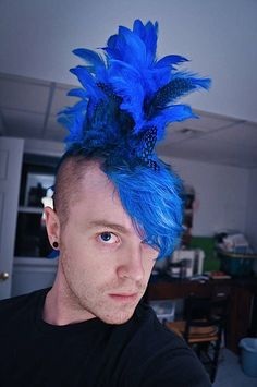 How-To: Sew a Feather Mowhawk   Make:   MAKE: Craft