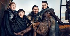 The North Remembers. Game of Thrones Exclusive New Photos: Entertainment Weekly reunites with the Starks. #ElectronicsStore