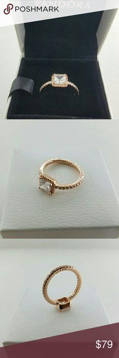 Pandora Rose Gold My Princess Tiara Ring 5 Pandora Rose
