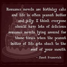 I don't care how formulaic her novels can sometimes be because sometimes all I need is a little Janet Evanovich to keep me calm.