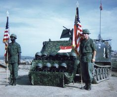Ceremony for fallen comrades being held at LZ Baldy by F Troop, 17th Cavalry, 23rd (Americal) Division, 1969.