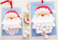 Santa's Beard Christmas Countdown Calendar