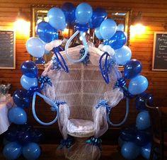 Pacifier Balloon Arch