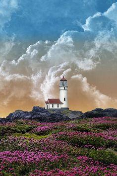 Lighthouse - 3045 by Peter Holme III via 500px.