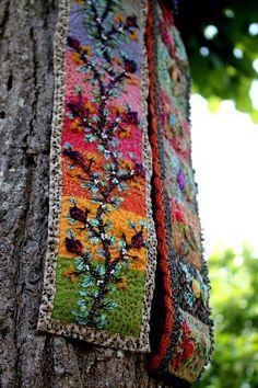 Le rouleau Tricot : rainbow, la branche