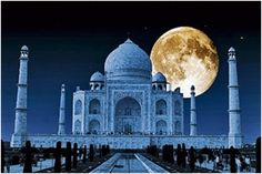 Moonlight visit to Taj Mahal   Padhaaro