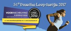Voorinschrijving 34e Drenthe Loopfestijn start op 1 december