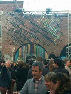 #art gallery block party in San Francisco. The #detroiter show from HeronArts.