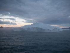 Disko Bay: Arctic Sunset by Denni Schnapp, via Flickr