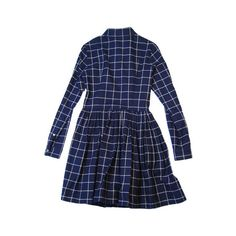 opening ceremony full shirt flannel l/s dress WD13-FW08 (920 CNY) ❤ liked on Polyvore featuring dresses, women, flannel dress, opening ceremony, blue dress, opening ceremony dresses and blue flannel dress
