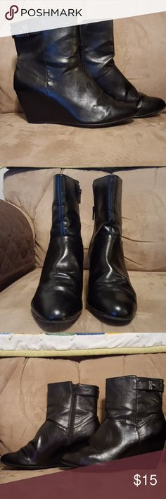 Alfani stepnflex booties Great condition only worn a couple times Alfani Shoes Ankle Boots & Booties