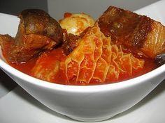 9jafoodie | Nigerian Food Recipes | Modern African Cuisine – Nigerian Buka Stew (Obe Ata)