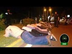 El gobierno criminal de Peña Nieto usa a su Policía Federal para reprimi...