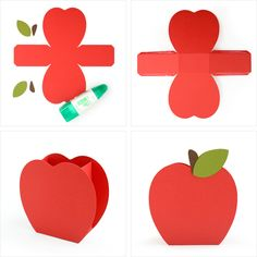 SVG cut files and tutorial for school themed boxes and gift card envelopes.