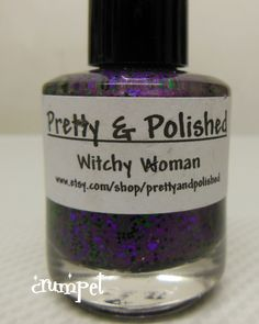 pretty and polished witchy woman - $5