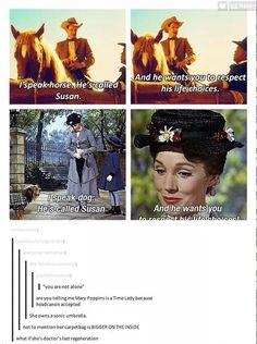 Mary poppins dr who