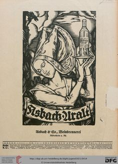 Jugend, German illustrated weekly magazine for art and life, Volume 26.1, 1921.