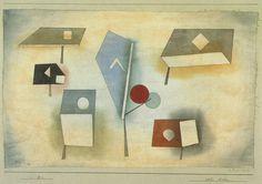 'Six types', huile de Paul Klee (1879-1940, Switzerland)