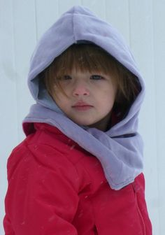 Reversible Cozy Hood for Kids | Sew Mama Sew | Outstanding sewing, quilting, and needlework tutorials since 2005.