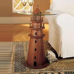 Lighthouse Accent Table.