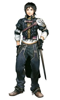 Rush Sykes from The Last Remnant