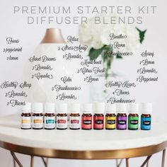 So many combinations as you begin your journey! You will love this chemical free lifestyle. I have some amazing gifts for you when you get started. www.theoildropper.com/enroll