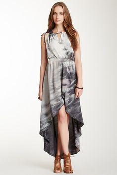 Silk Tulip Maxi dress