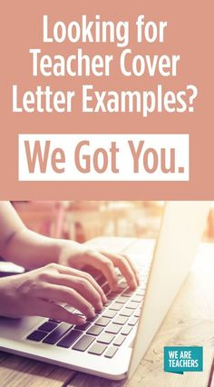 Looking for Teacher Cover Letter Examples? Teacher Cover Letter Examples – Real Letters Used to Get Hired. Looking for a new teaching job? These suggestions will help. Teaching Cover Letter, Teacher Cover Letter Example, Letter To Teacher, Cover Letter For Resume, Cover Letters For Teachers, Teaching Resume Examples, Teaching Jobs, Student Teaching, Teaching Ideas