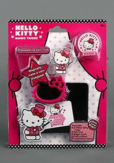 Hello Kitty Disapearing Coin Trick -- Want to know more, click on the image.Note:It is affiliate link to Amazon.