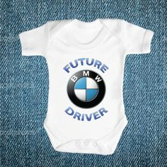 Future BMW Driver Brand New Baby Romper, Babies Clothes One Piece Romper Shower, Babies Quality Romper, Cool Gift! on Etsy, $19.99