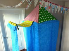 Circus Tent, I want to make this for my classroom reading area.