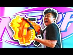 Nerf War: Guava Juice Edition - YouTube