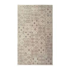 3100** bavlna s hedvabnou vysivkou Béžový koberec Floorist Mosaic Beige, 140x200cm